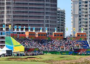 El golf y los deportes importantes