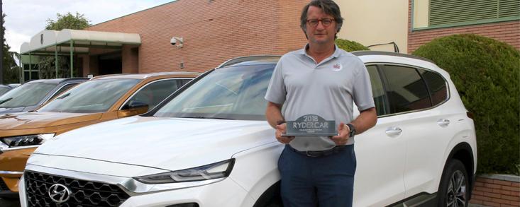 Hyundai Santa Fe, elegido por los golfistas como su 'coche ideal'