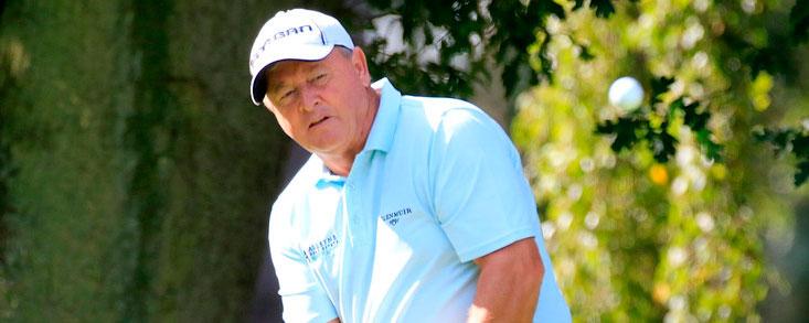 Ian Wosnam, líder en el Woburn Golf Club