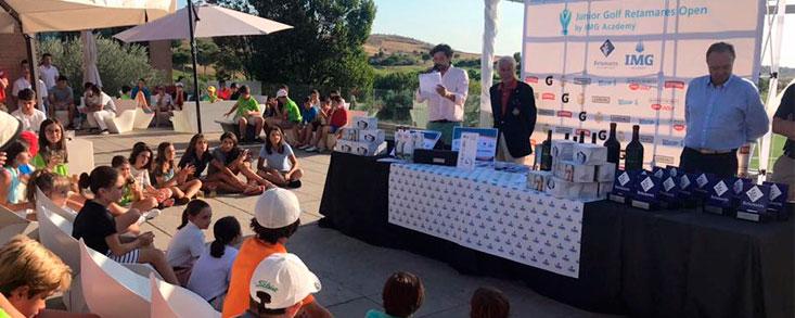 Retamares acoge con éxito el III IMG Junior Gof Tour