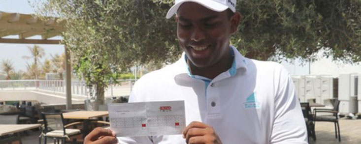 ¡Un joven amateur de 17 años firma nueve birdies seguidos!