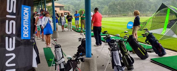 Oviedo vivió una gran jornada de golf con Decathlon