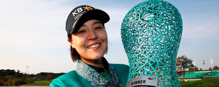 In Gee Chun consigue su cuarto triunfo en la LPGA y Ciganda acaba undécima