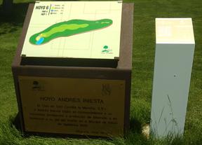 Golf Las Pinaillas vibra con Andrés Iniesta en el Mundial