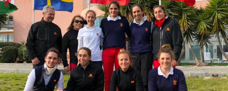 Carla Tejedo y Julia López dejan buenas sensaciones en la ronda inaugural del Internacional de Portugal