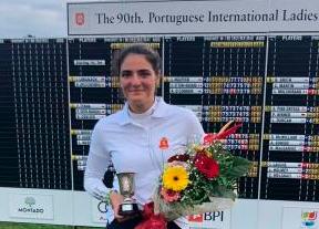 Segundo puesto de Carolina López-Chacarra en el Internacional de Portugal
