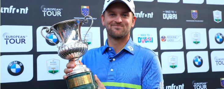 Bernd Wiesberger aventaja en un golpe a Fitzpatrick y gana el Italian Open