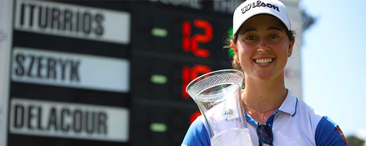 Nuria Iturrios gana el Zimmer Biomet y se deja el LPGA Tour al alcance de la mano