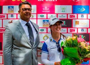 Nuria Iturrios: 'Quiero jugar en la LPGA, cuanto antes'