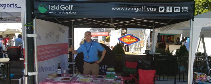 Izki Golf, presente en la Feria MadridGolf