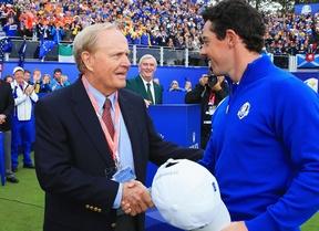 """Nicklaus: """"En 2017 McIlroy tiene que mejorar si quiere dominar el golf mundial"""""""