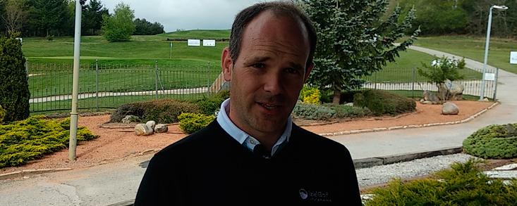 Jon Ander Sánchez: 'Izki Golf está en formato Tour'