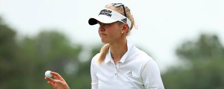 Jessica Korda toma el mando en Shanghai