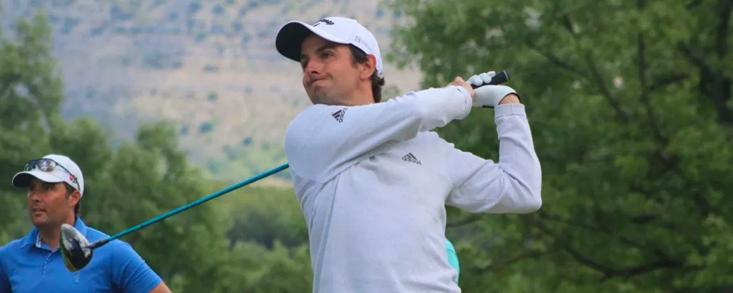 Jordi García del Moral pisa fuerte en Tecina Golf y marcha a dos golpes