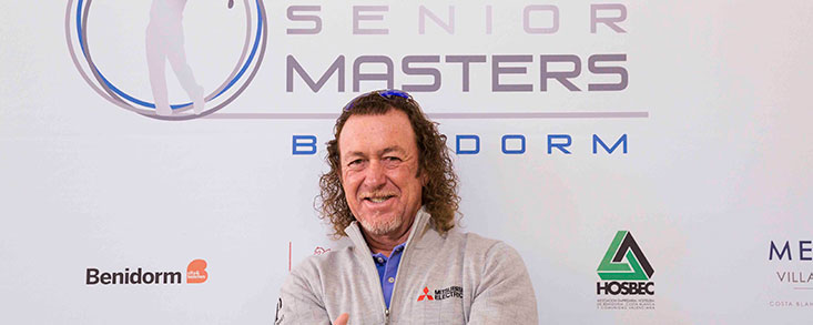 Miguel Ángel Jiménez debutará en el Costa Blanca Benidorm Senior Masters