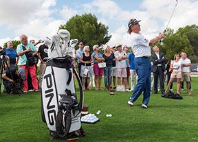 Miguel Ángel Jimenez, en Las Colinas Golf & Country Club