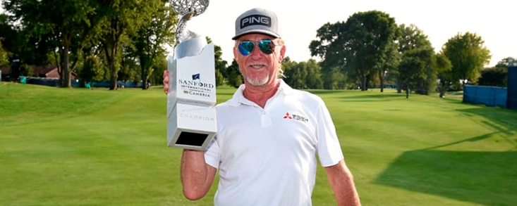 M.A. Jiménez (-14) logra su décimo título en el PGA Tour Champions