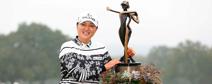 Jin Young Ko gana el torneo la copa de las fundadoras con cuatro golpes de ventaja