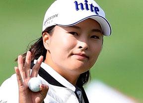 Carlota Ciganda, octava a nueve golpes de la campeona Jin Young Ko