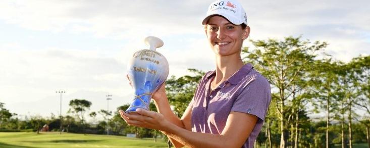 Primer triunfo para la holandesa Anne Van Dam