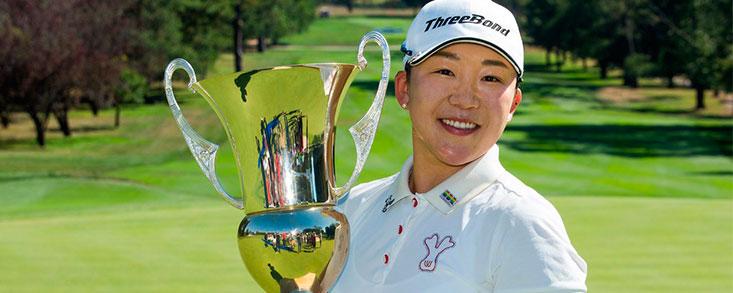Jiyai Shin consigue en Canberra la victoria número 50 de su carrera
