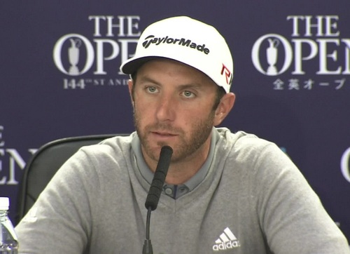 Dustin Johnson no irá a Río
