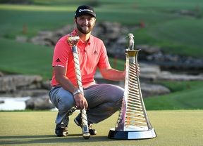 Jon Rahm gana el DP World Tour Championship y la Race to Dubai