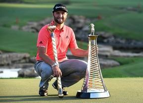 Jon Rahm gana el DP World Tour Championship y la Race to Dubai