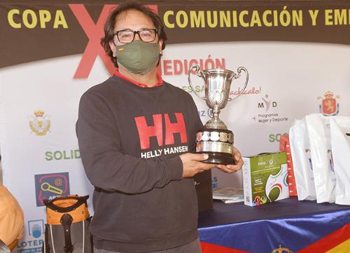La regularidad da la victoria a Jorge Iglesias en la XII edición de la Copa Comunicación y Empresas