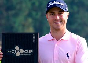 Justin Thomas gana en Corea por segunda vez en tres años