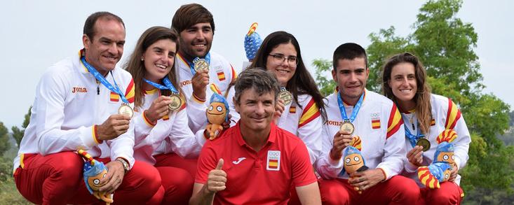 El golf da cuatro oros al equipo español en los Juegos del Mediterráneo