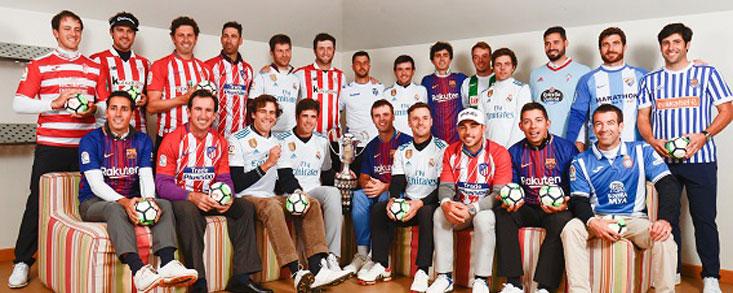 La 'Armada' quiere golear en el Open de España