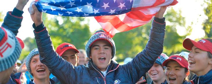 EE.UU. gana la Junior Ryder Cup