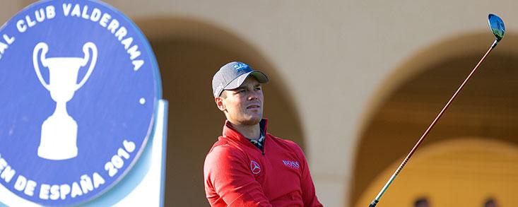 Martin Kaymer, otro grande que estará en el Andalucía Valderrama Masters