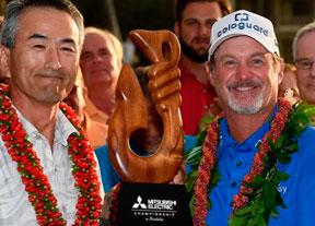 Jerry Kerry se impone en Hawai con Jiménez a tres golpes