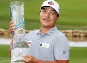 K.H. Lee logra su primer torneo en el PGA Tour con -25