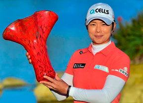 Eun Hee Ji se lleva la victoria ante Cristie Kerr y Lizette Salas