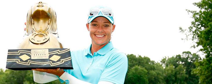 Katherine Kirk consigue su tercer triunfo en la LPGA