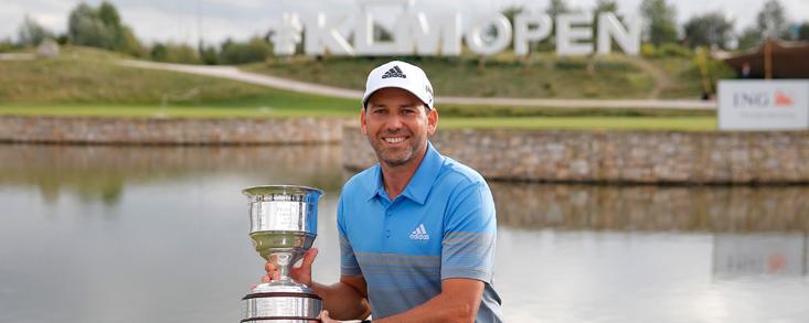 García (-18) logra su primera victoria del año y su décimo sexto título europeo