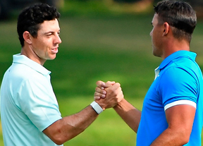 Brooks Koepka no ve a Rory McIlroy como rival