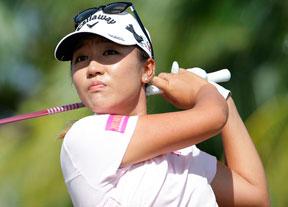 Lydia Ko afina y ya es segunda en la final de la LPGA