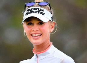 Jessica Korda afronta el domingo con cuatro golpes de ventaja en Tailandia