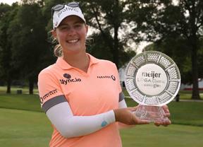 Jennifer Kupcho vence en Augusta con Olarra 12ª y Pérez 21ª