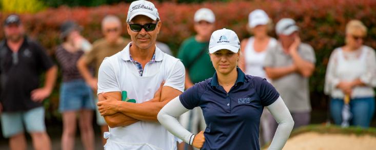 Stephanie Kyriacou se estrena como profesional en el Open de Nueva Zelanda