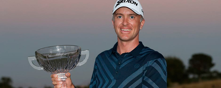 Martín Laird gana el Shriners Hospitals for Chldren Open en un play-off a tres