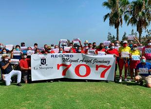 La Marquesa Golf rinde homenaje a Miguel Ángel Jiménez