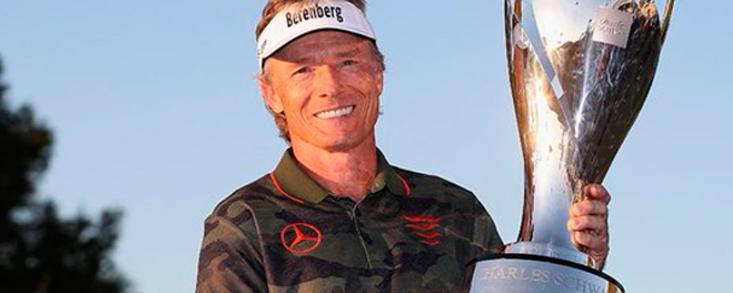 Langer consigue su quinta Charles Schwab Cup y Jiménez acaba quinto