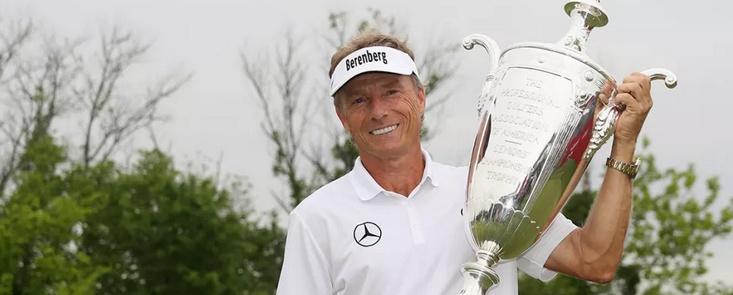 Bernhard Langer gana y sigue haciendo historia en el PGA Champions