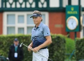 Espectacular vuelta de Langer de 66 golpes para ganar su cuarto Open Senior