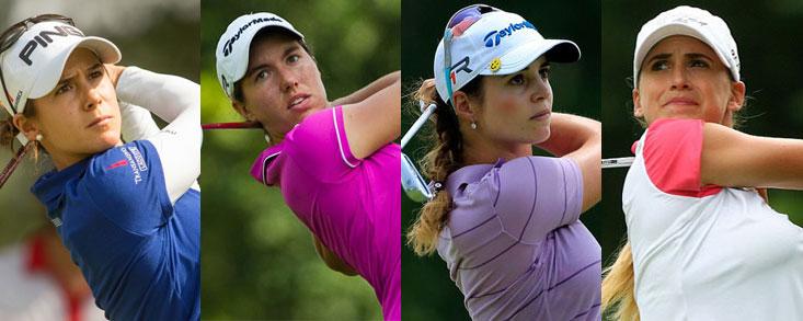Las '4 fantásticas' en busca del primer Major para el golf español
